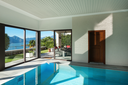 house with garden, Indoor swimming pool