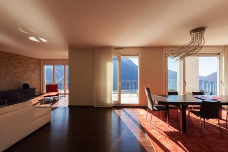 Architecture, l'intérieur des maisons modernes