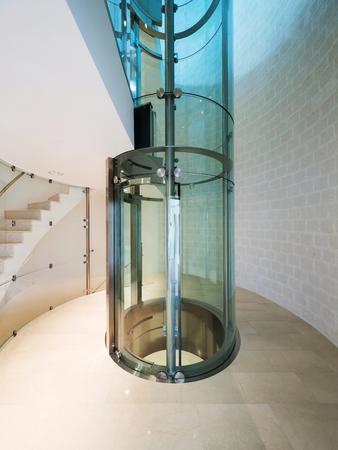 lift: futuristic elevator in a modern building