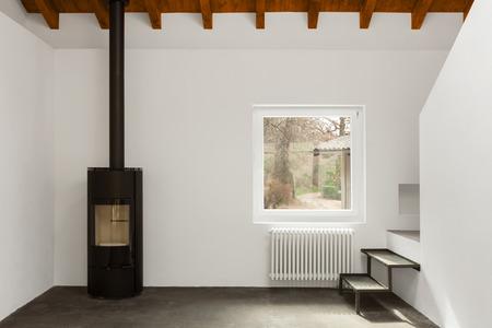 Moderne loft interieur, niemand binnen