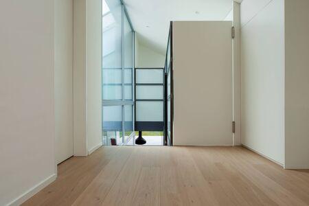 passage: Interior of a modern loft, wide passage Stock Photo
