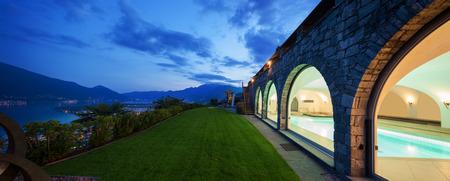 home and garden: Exterior of a modern house villa