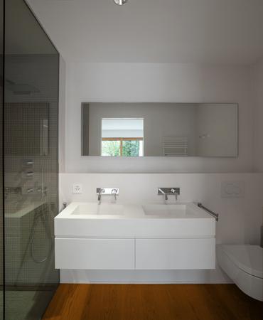 modern bathroom: Interior of modern apartment, bathroom