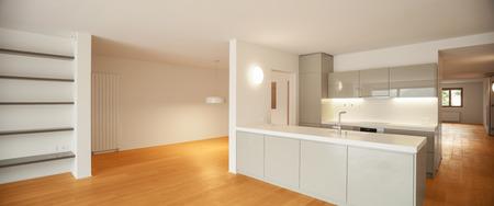 Interieur van de moderne keuken appartement