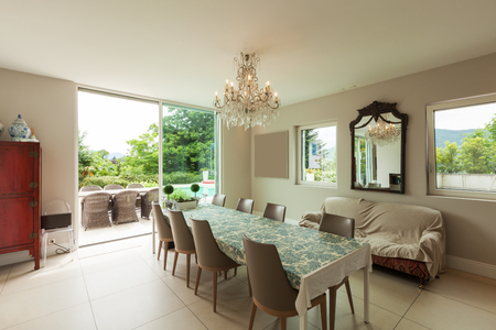 dining area: Modern house dining area interior