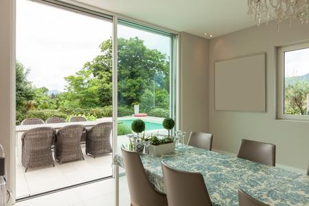 modern interior: Modern house interior Stock Photo