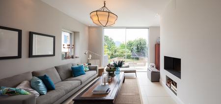 Modern house interior 스톡 콘텐츠