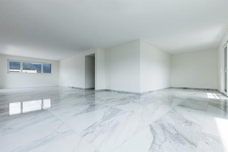 piso de marmol el interior del apartamento vaco sala amplia con suelo de mrmol