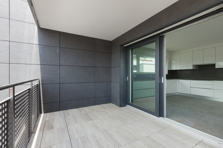 현대 건축, 건물의 발코니