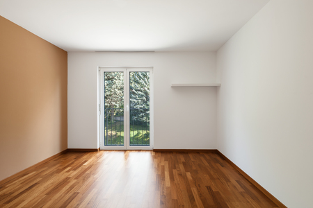 contemporary house: Modern house interior empty open space Stock Photo