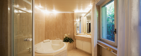 bathroom mirror: Hydro massage for a complete relax