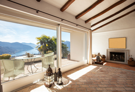 Elegant apartment with wonderful furniture Stock Photo