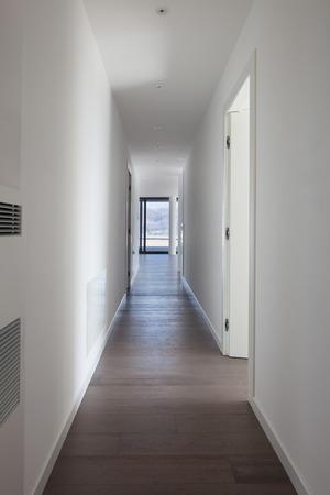 corridor of modern apartment