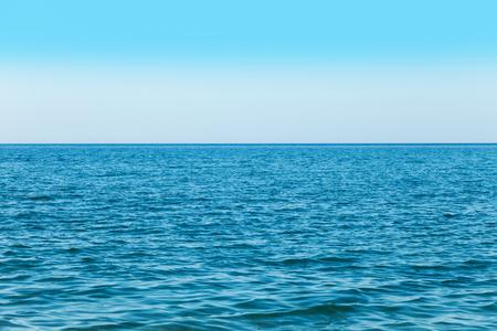 晴れた夏の日の海ビュー