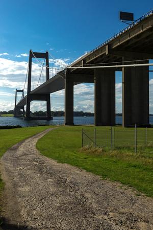 New Little Belt Bridge from bottom view