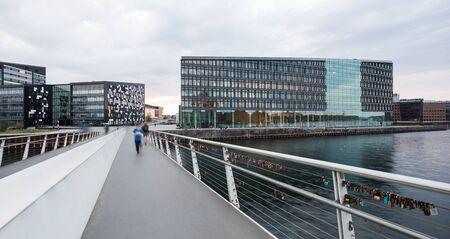 View from Bryggebroen Bridge in Copenhagen