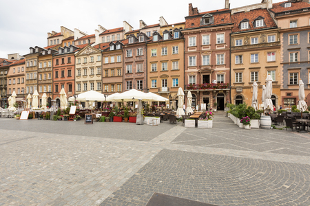 A small glimpse of old Warsaw