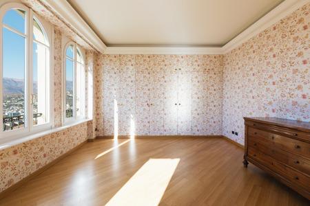 Vintage living room and beautiful view on Lugano
