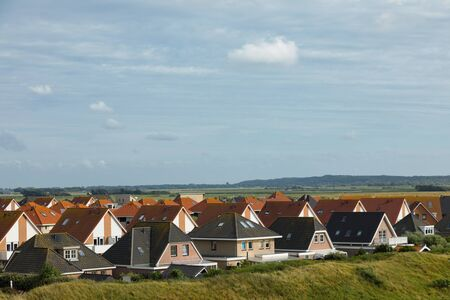 Roof of small village in HOlland Archivio Fotografico
