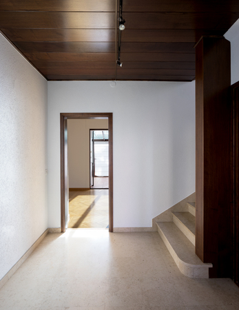 Empty atrium in a classic house
