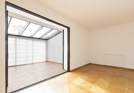 Empty room in a modern house