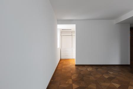 empty walk in closet. Empty Bedroom With Door Leads Into Walk-in Closet. Nobody Inside Stock  Photo - Empty Walk In Closet