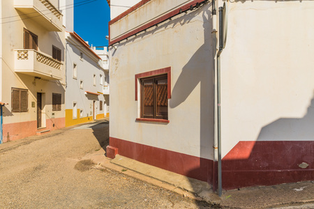 Village of Odemira in Portugal. Desolate streets