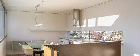 Modern apartment or house interior, nobody inside. 版權商用圖片