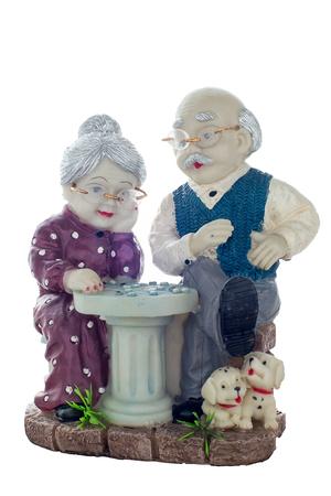 lading: Pottery grandparents