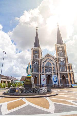 The Catholic Church Chanthaburi of the immaculate conception , Chanthaburi, Thailand, Aug 27, 2016