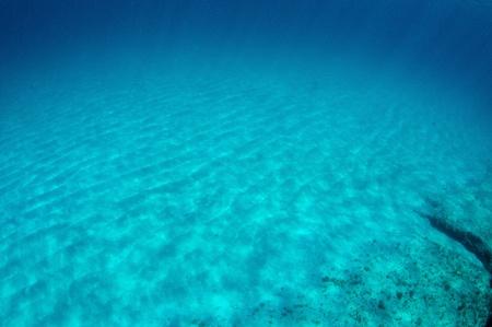 Dappled sandy bottom just off shore of a South Florida Beach. Stock Photo - 12823532