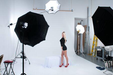 behind scenes: Behind the scenes imagoe of studio shoot