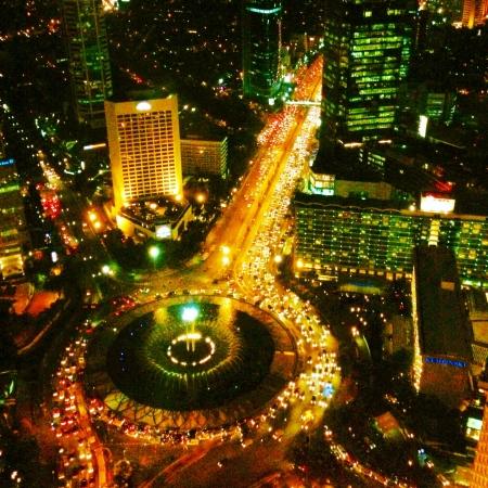 jakarta: Night view of Jakarta