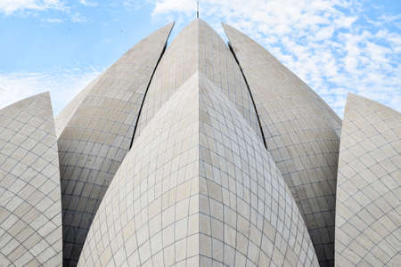 lotus temple: Lotus temple with close-up details