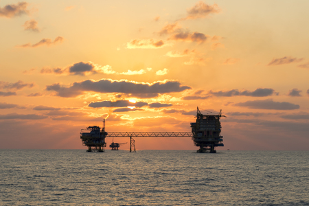 oil and gas industry: Offshore Industry oil and gas production petroleum pipeline.