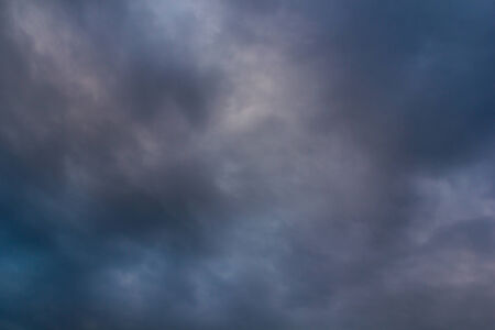 barren: blue sky and cloud after rain  background in Thailand .