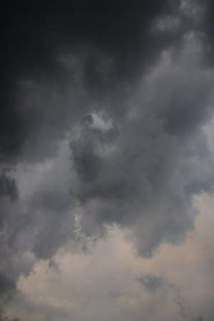 dark sky and cloud after rain background  photo