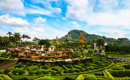 rayong temple is beautiful building . photo