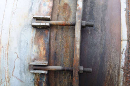 Grunge abstract industrial background with rust. Stock Photo