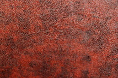 texture of a skin of red colour as a background Stock Photo
