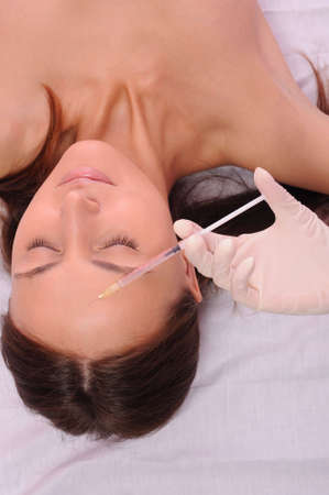 botox or hyaluronic acid injection