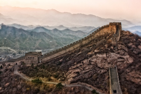 great wall: Great Wall of China Stock Photo