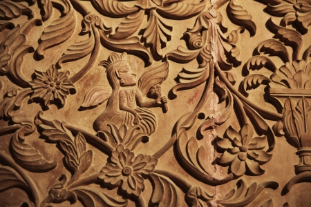 trabajo manual: Asia arte, india arte, Rajasthan Foto de archivo