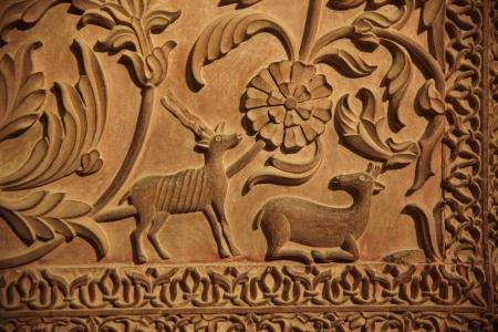 trabajo manual: Asia, arte, india, Junagarh Fort, Rajasthan, India