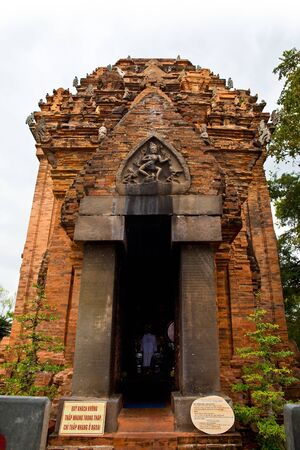Cham temple  Po nagar , Landmark on Nha Trang, Vietnam  Stock Photo - 18595097