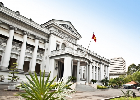 Ho Chi Minh City Museum or  Independence Palace is a historical site in Ho Chi Minh, Vietnam   Editorial