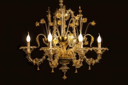 Ancient Antique Art Black Background Bulb Blowers – Corona Chandelier
