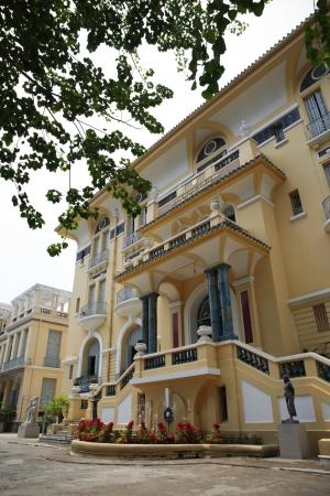 Ho Chi Minh Fine Arts Museum, Ho Chi Minh City, Vietnam. This is the major art museum of Ho Chi Minh City, Vietnam.