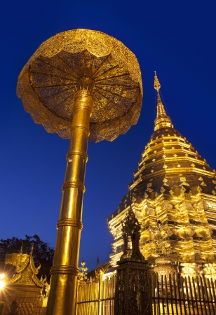 Wat Phra That Doi Suthep  Temple , Chiang Mai, Landmark and tourist attractions in Thailand  photo