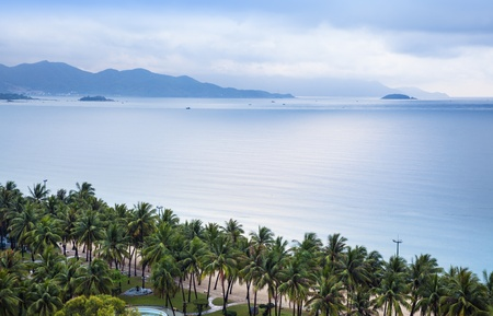 trang: Nha Trang seascape, Vietnam   Nha Trang is a coastal city and capital of Khanh Hoa province, on the South Central Coast of Vietnam